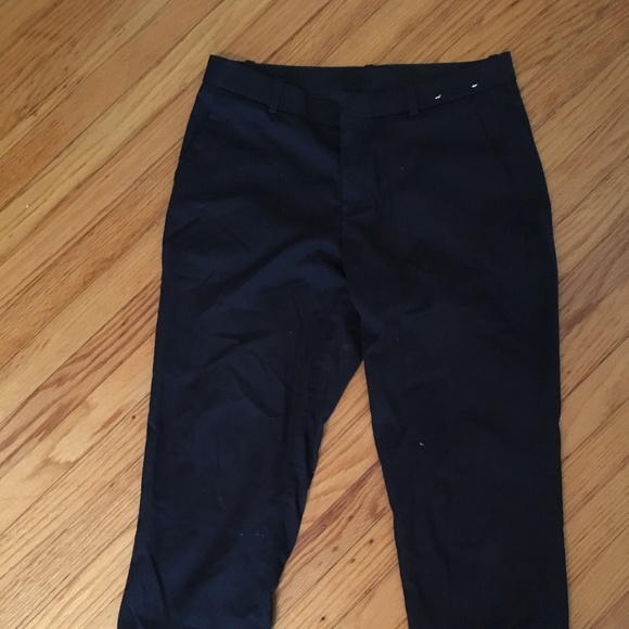 Uniqlo Pants - Uniqlo Navy Slacks
